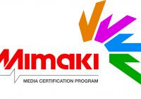 Mimaki Media certification program logo
